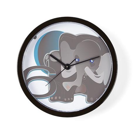 ELEPHANT6 at TIKI TOON Wall Clock