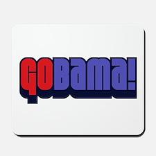 GoBama Go Obama Mousepad