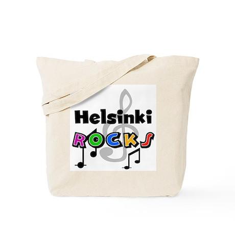 Helsinki Rocks Tote Bag