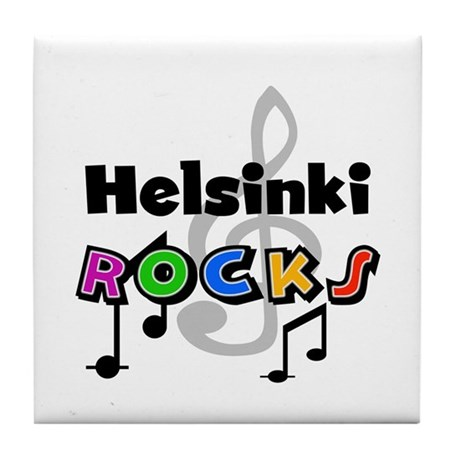 Helsinki Rocks Tile Coaster