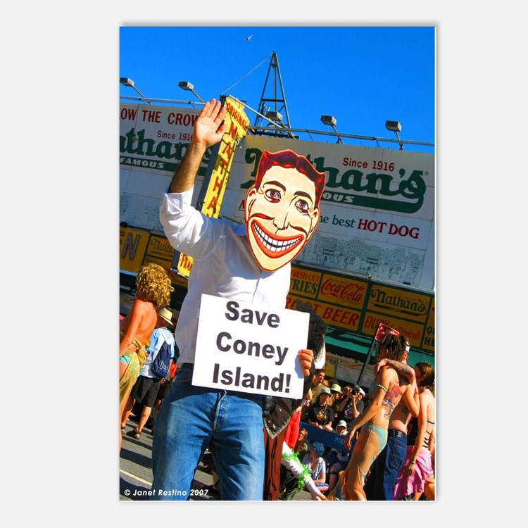 Save Coney Island Postcards (Package of 8)