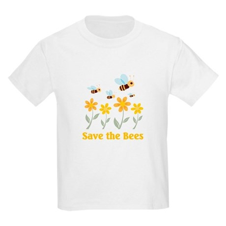 Save The Bees T Shirt By Powderedsugar