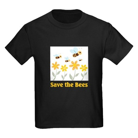 Save The Bees Kids Dark T Shirt Save The Bees T