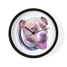 American Staffordshire Terrier Wall Clock
