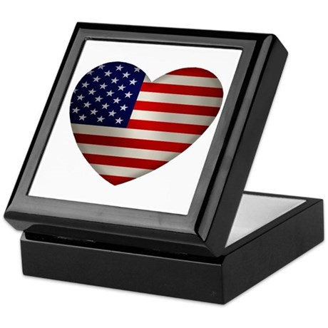 Heart America Keepsake Box