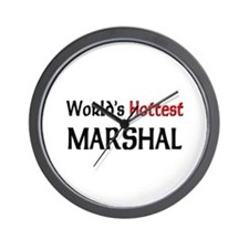 World's Hottest Marshal Wall Clock