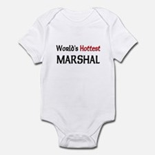 World's Hottest Marshal Infant Bodysuit
