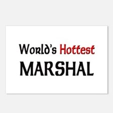 World's Hottest Marshal Postcards (Package of 8)
