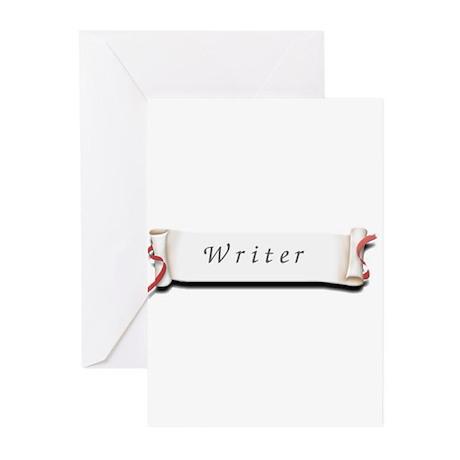 Writer Greeting Cards (Pk of 10)