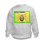 Lyme Disease Is Icky Kids Sweatshirt