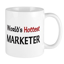 World's Hottest Marketer Mug