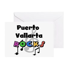 Puerto Vallarta Rocks Greeting Card