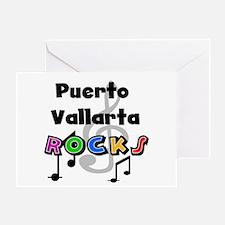 Puerto Vallarta Rocks Greeting Card