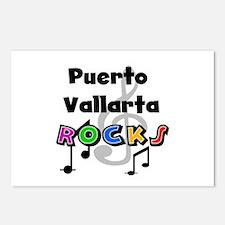 Puerto Vallarta Rocks Postcards (Package of 8)