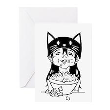 Popcorn Greeting Cards (Pk of 10)
