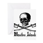 Manitou Island Pirate Greeting Cards (Pk of 10)