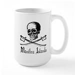 Manitou Island Pirate Large Mug