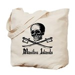 Manitou Island Pirate Tote Bag