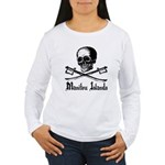 Manitou Island Pirate Women's Long Sleeve T-Shirt