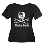 Manitou Island Pirate Women's Plus Size Scoop Neck