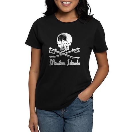 Manitou Island Pirate Women's Dark T-Shirt