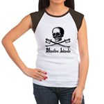 Manitou Island Pirate Women's Cap Sleeve T-Shirt