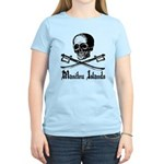 Manitou Island Pirate Women's Light T-Shirt