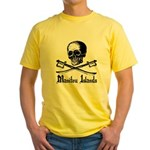 Manitou Island Pirate Yellow T-Shirt