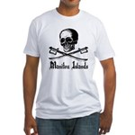 Manitou Island Pirate Fitted T-Shirt
