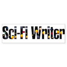 Sci-Fi Writer Bumper Bumper Sticker