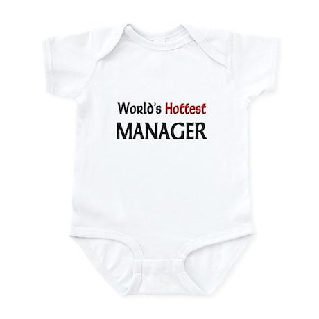 World's Hottest Manager Infant Bodysuit