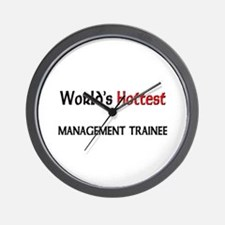 World's Hottest Management Trainee Wall Clock