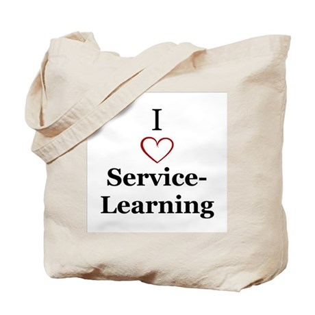 I love service-learning Tote Bag