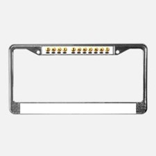 Just Journal License Plate Frame