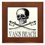 Vans Beach Pirate Framed Tile