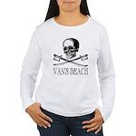 Vans Beach Pirate Women's Long Sleeve T-Shirt