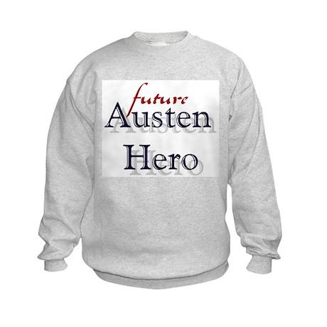 Bennetgirls Jane Austen Hero Kids Sweatshirt
