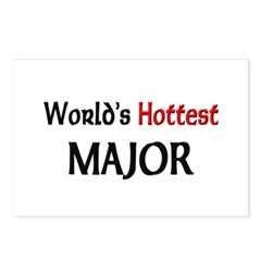 World's Hottest Major Postcards (Package of 8)