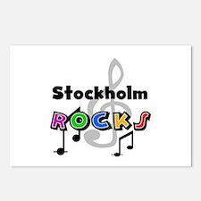 Stockholm Rocks Postcards (Package of 8)