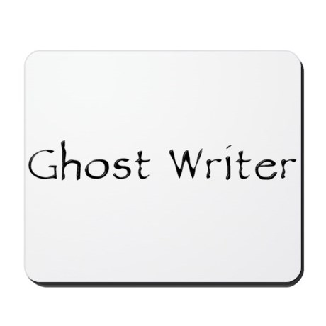Ghost Writer Mousepad