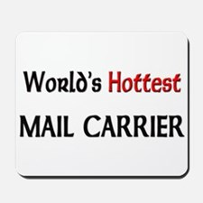 World's Hottest Mail Carrier Mousepad