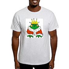 Frog Prince Ash Grey T-Shirt