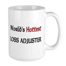 World's Hottest Loss Adjuster Large Mug
