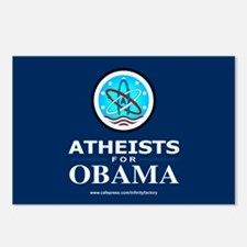 Atheists for OBAMA Postcards (Package of 8)