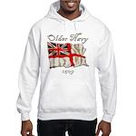 Older Navy Hooded Sweatshirt