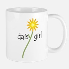 Yellow Daisy Girl Mug