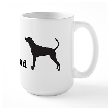 REDBONE COONHOUND Large Mug