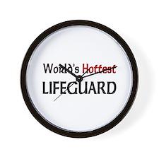 World's Hottest Lifeguard Wall Clock