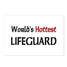 World's Hottest Lifeguard Postcards (Package of 8)