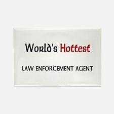World's Hottest Law Enforcement Agent Rectangle Ma